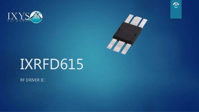 IXRFD615 RF DRIVER IC