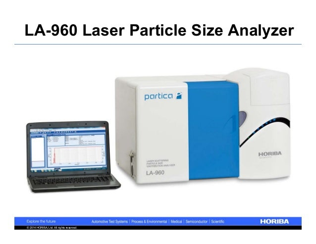 Laser Particle Size Analyzer : Introducing the la laser particle size analyzer