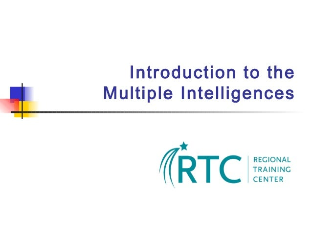 Introduction to the Multiple Intelligences