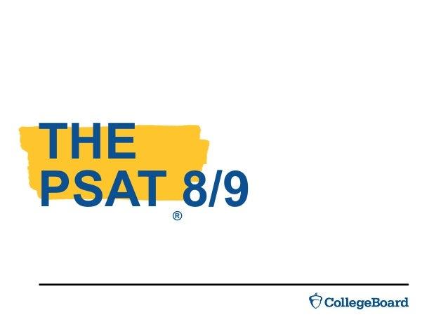THE PSAT 8/9®