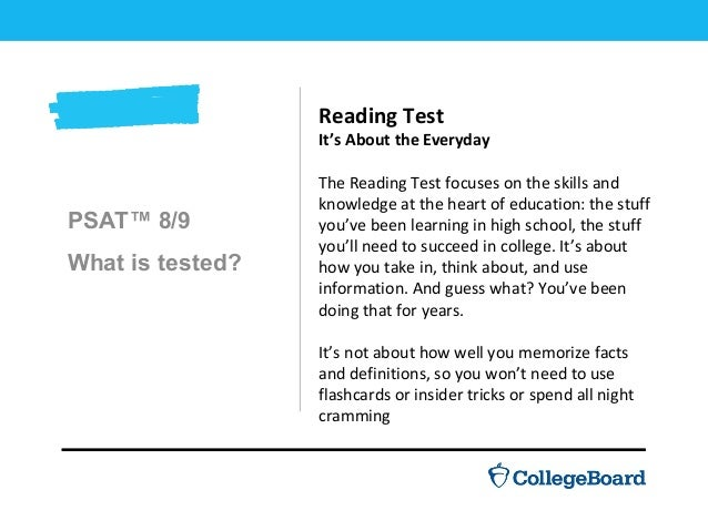 introducing the new psat 8 9