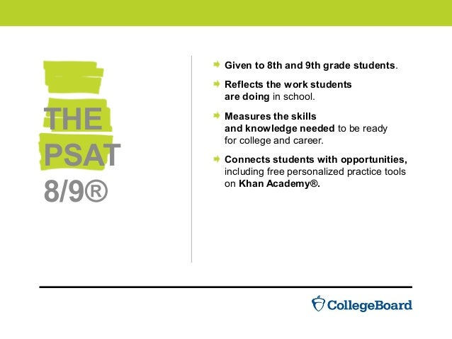 Introducing The New Psat 89