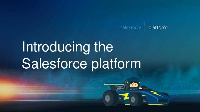 Introducing the Salesforce platform