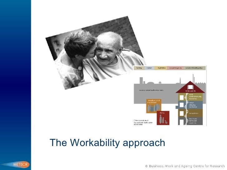 The Workability approach