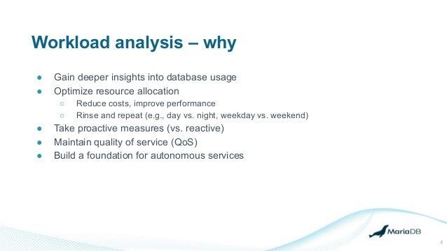 Introducing workload analysis Slide 2
