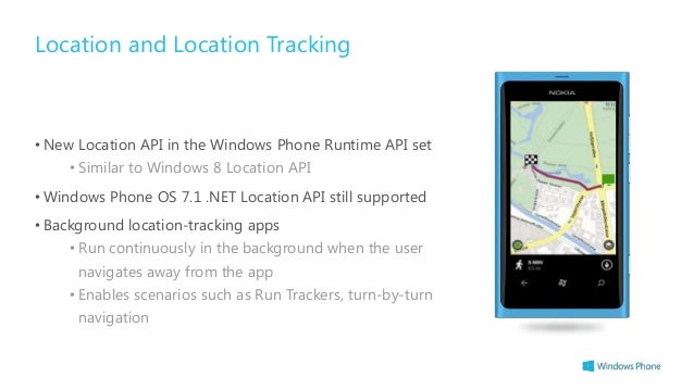 windows phone 8 location tracker