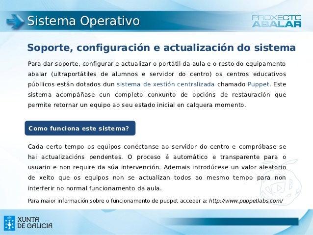 Sistema OperativoSoporte, configuración e actualización do sistemaPara dar soporte, configurar e actualizar o portátil da ...