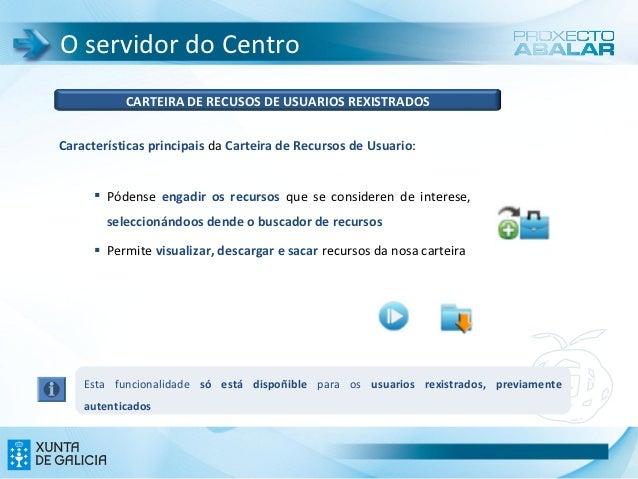 O servidor do Centro           CARTEIRA DE RECUSOS DE USUARIOS REXISTRADOSCaracterísticas principais da Carteira de Recurs...