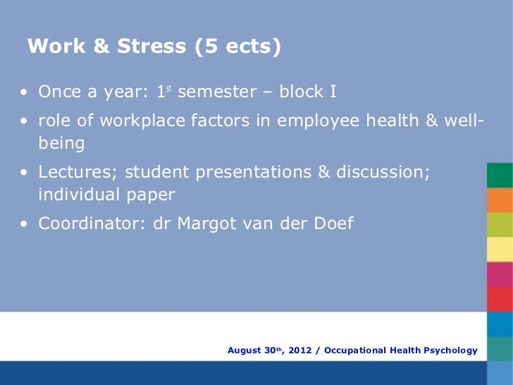 Occupational health psychology ohp benefits and uses