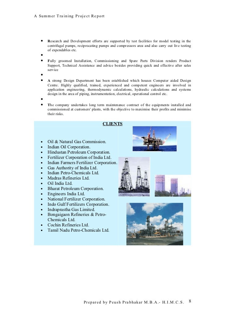 summer training project report Summer training project report on ntpc by prateek jain- vit summer training project report on ntpc by prateek jain- vit university free download as pdf file (pdf), word docprateek jain btech 2nd year vit university »more detailed.