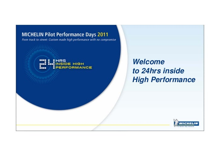Welcometo 24hrs insideHigh Performance