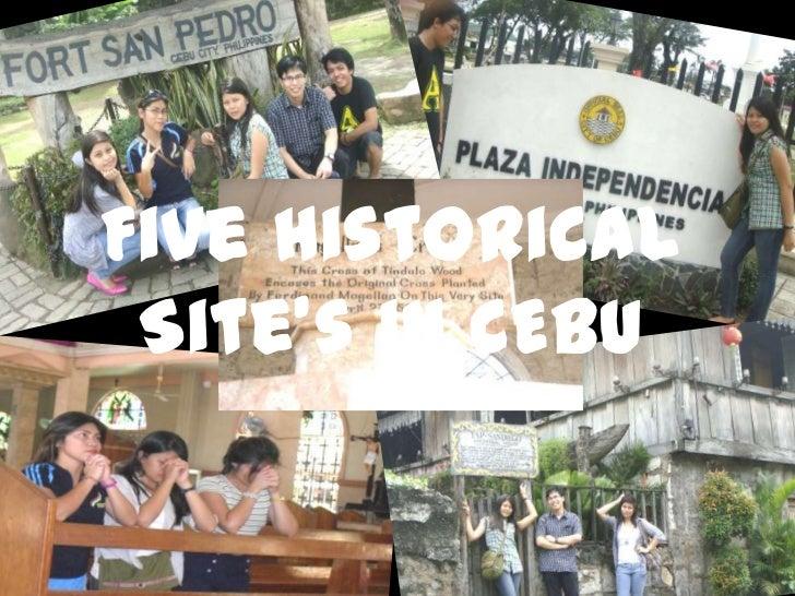Five Historical Site's in CEBU