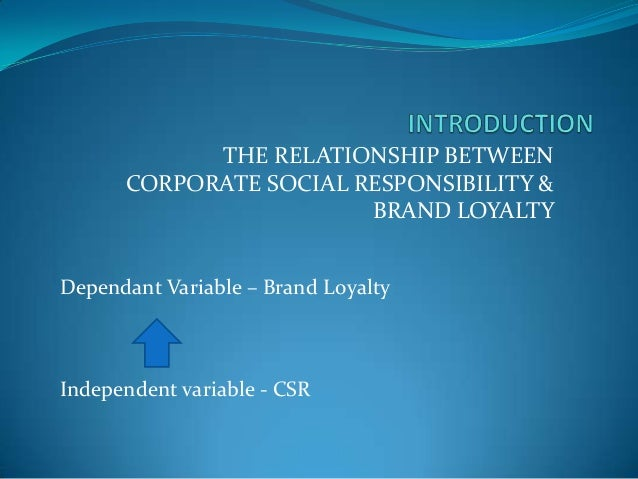 the impact of csr The purpose of this study is to find out the impact of csr on firm's financial performance, the csr cost and economic benefits impact of csr on firm's profitability (net profit & total assets.