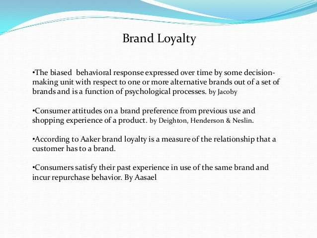 effect of brand loyalty on advertising Effects of brand loyalty on duration of visits could, however, be negative, because loyals are well updated on the contents of the sites and find less management international internet marketing measurement personality consumers advertising fast moving consumer goods fmcg brand-building strategy.