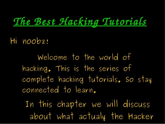 Computer Hacking And IT Security - PowerPoint PPT Presentation