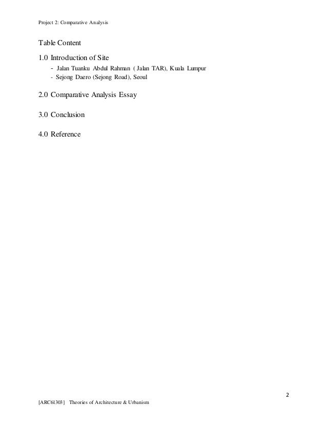 comparative analysis 2 essay Currently, three different standard setters promulgate auditing standards, the aicpa, pcaob and iaasb the outcome of the project was two essays comparing the.