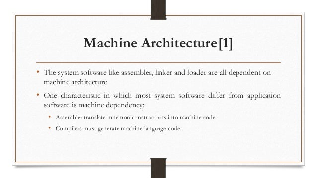 Introduction To Simplified Instruction Computer Or Sicxe