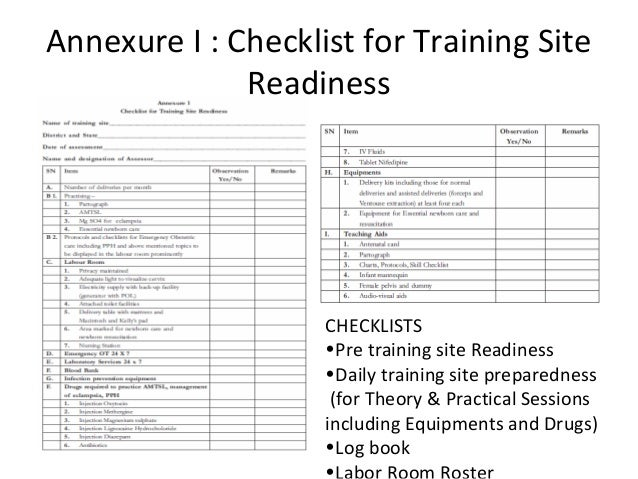 Introduction to training guidelines, session plans & role of trainers…