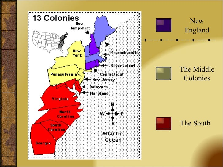 13 colonies powerpoint the south the middle colonies new england toneelgroepblik Gallery