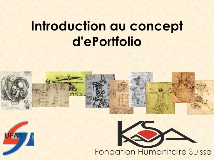 Introduction au concept d'ePortfolio