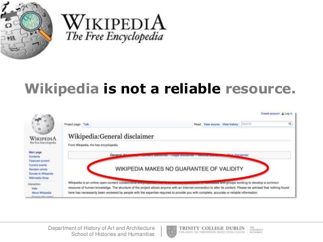 how to know if resources are reliable