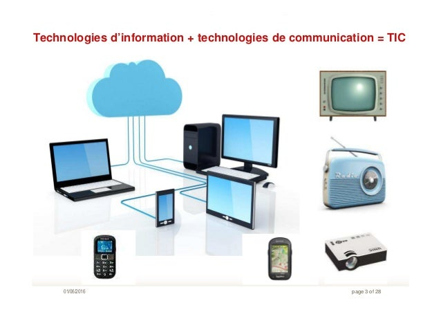 les technologies de linformation et de la communication