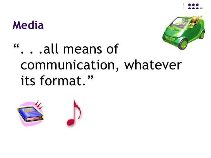 Introduction to Media and Technology