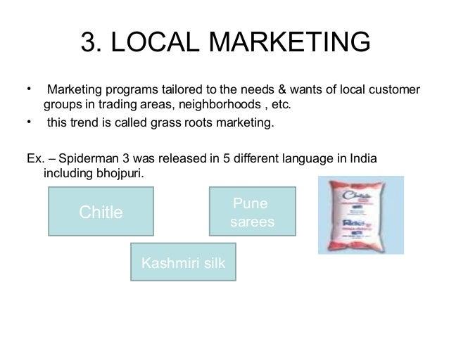 Marketing mix arvind mills