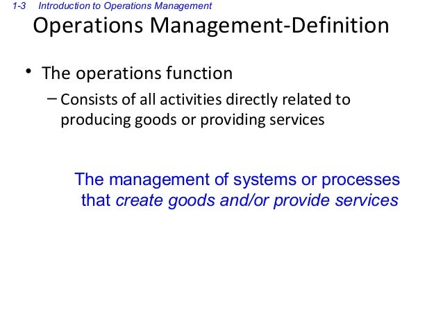 Introduction operations as a competitive weapon-123 Slide 3