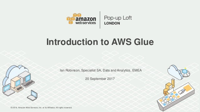 Introduction to AWS Glue
