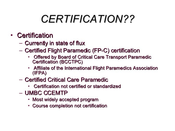 Micp Introduction Into Cct