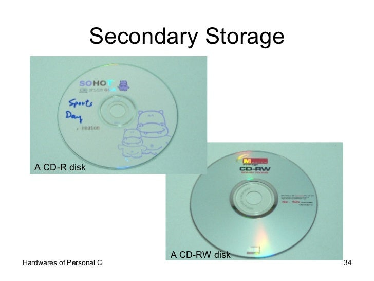 secodary storage devices Storage devices differences between primary and secondary storage unit for data measurement basic maintenance handling input and output devices computer setting technology development differences between primary and secondary storage.