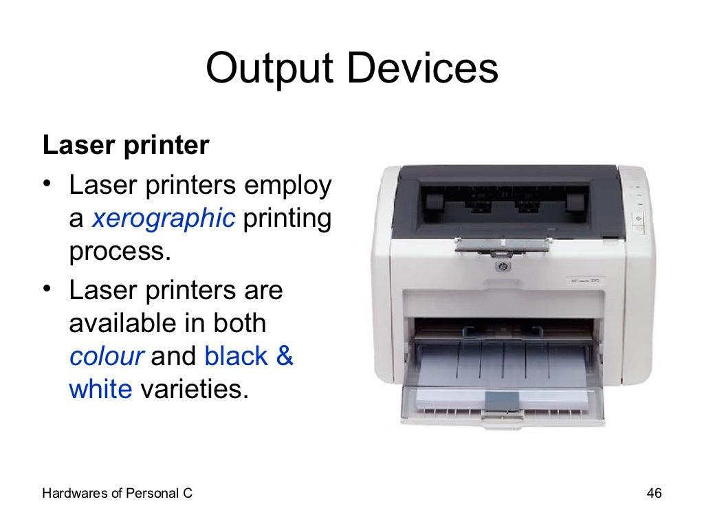 Output devices printer
