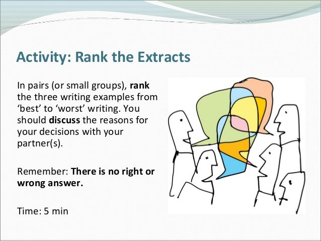 small group creative writing activities Group story writing by bruce lansky here's a classroom activity that is lots of fun and will get your students' creative juices flowing 1 announce that the whole class (or small groups of students) will write a story together.