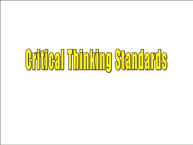 introduction to critical thinking video Geoff pynn (northern illinois university) gets you started on the critical thinking journey he tells you what critical thinking is, what an argument is.