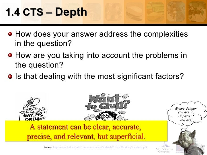 introduction to critical thinking video Introduction to critical thinking one of the most important aspects of academic work is the ability to think critically about what you read, what you write and what.