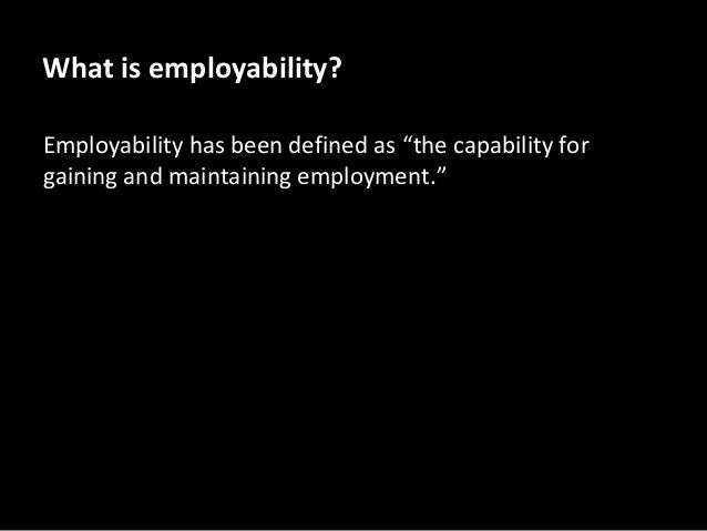 employability skills and swot analysis Employability, music enterprise, employment skills, work experience, music cv, swot analysis slideshare uses cookies to improve functionality and performance, and to provide you with relevant advertising.