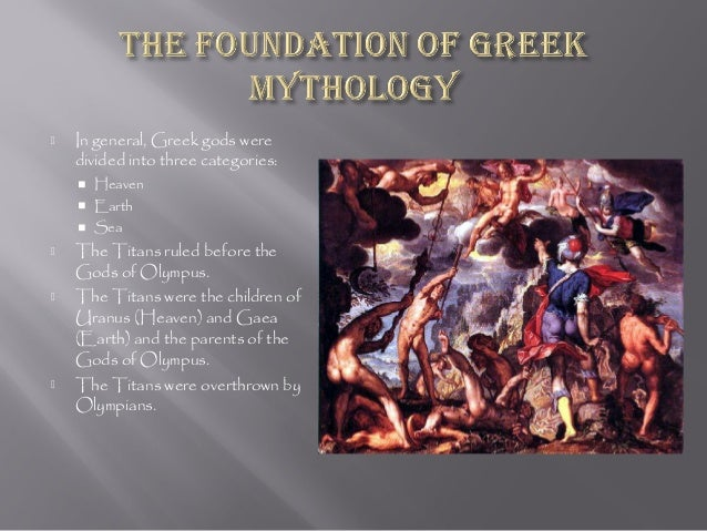 mythology powerpoint 38 slides this powerpoint covers all of the major gods from greek mythology in stunning detail like all of my powerpoints, this ppt is filled with exciting images that will help your students get into the wonderful world of mythology.