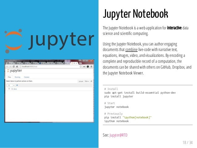 Introduction to IPython & Jupyter Notebooks