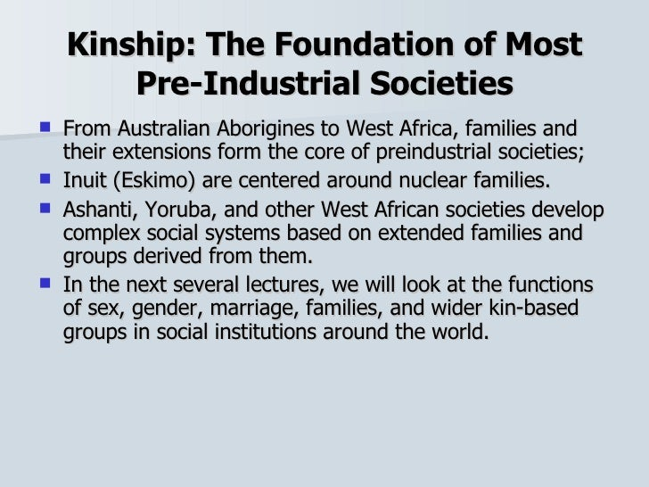 family and kinship sociology Family and intimate relationships: a review of the sociological research  within the field of sociology the term intimacy has taken on a  family and kinship.