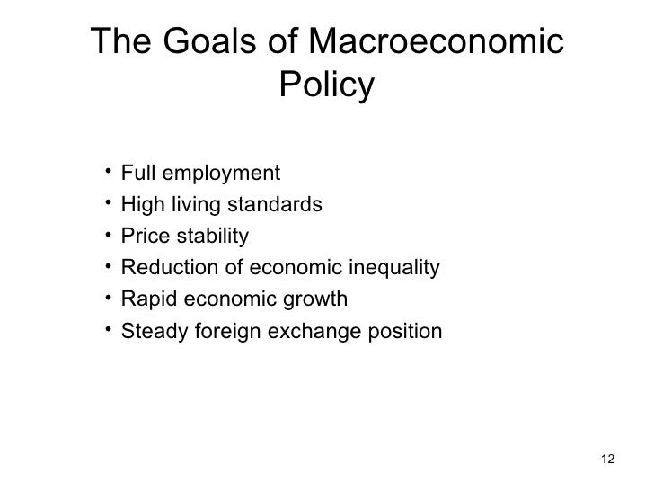 macroeconomic schools of thought The central tenet of this school of thought is that government intervention can   private sector decisions can sometimes lead to adverse macroeconomic.
