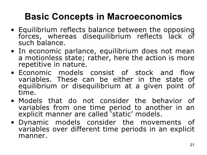 reflection about macroeconomics Rebuilding macroeconomics: initial reflections on a major theory project the 'rebuilding macroeconomic theory project' came to an end in the most recent volume of the oxford review of economic policy how were the various papers' conclusions received.