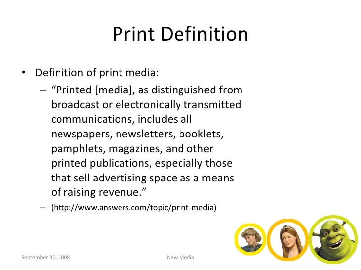Different Types of Print Media: All Effective in their Own Ways