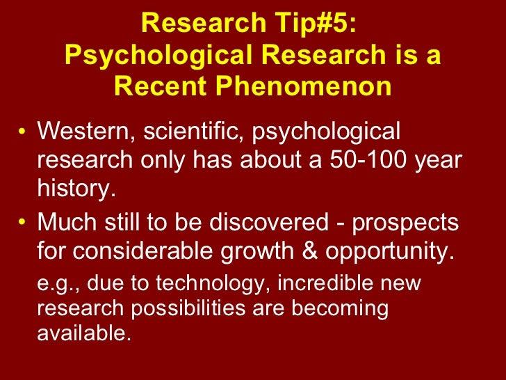 Scientific method and case study