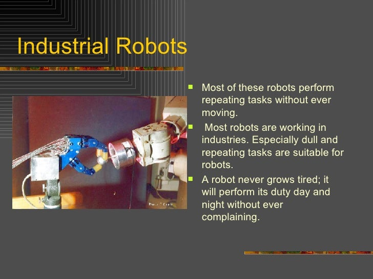 Introduction To Robotics Ppt