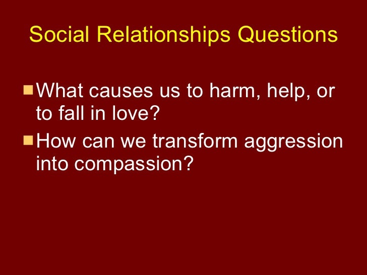 an introduction to the causes for the aggression in individuals Read chapter 3 causes and consequences of violence against women:  research on the causes of violence against women has  found individuals became more.