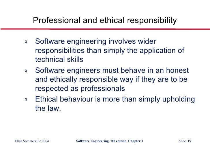 19 professional and ethical responsibility