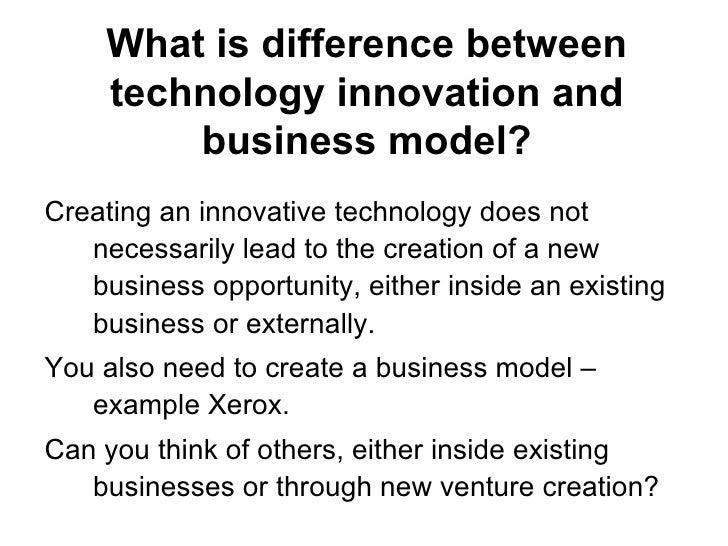 Sustaining vs Disruptive Technologies