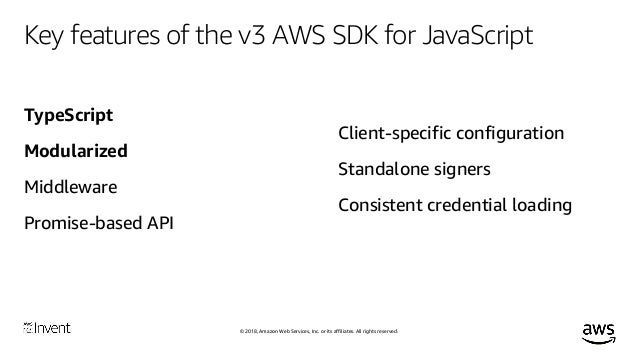 Introduction to Version 3 of the AWS SDK for JavaScript (TypeScript) …