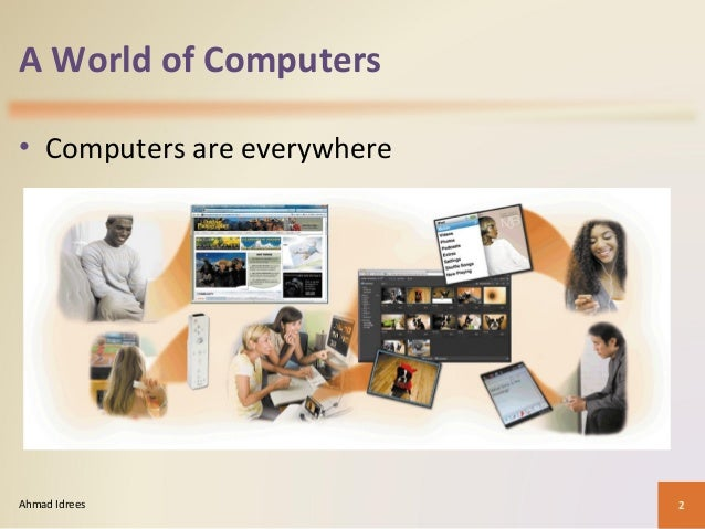 introduction to computing Introduction a computer is a multipurpose electronic device that can receive, process and store data they are used as tools in every part of.